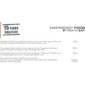 Trek'n Eat Emergency Food Can 600g, Swiss Muesli with Milk